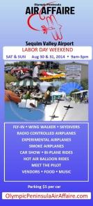 Olympic Peninsula Air Affaire 2014